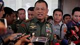 Indonesia military identifies three graft suspects over helicopter deal