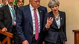 May and Trump reaffirm UK-U.S.trade commitment - May's spokesman