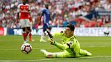 Courtois blames referee and defensive lapse for Cup defeat