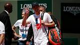 Murray faces French Open tester against in-form Kuznetsov