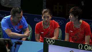 Table tennis - China suspends coach over gambling debt