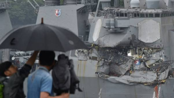 Japon: les disparus trouvés morts dans le destroyer inondé