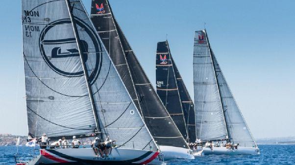 Vela: Melges 40,Stig vince in C.Smeralda