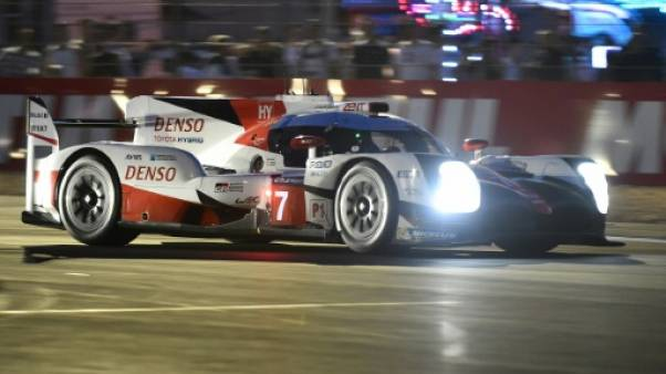 24 Heures du Mans: Toyota en tête en début de soirée, Porsche diminué
