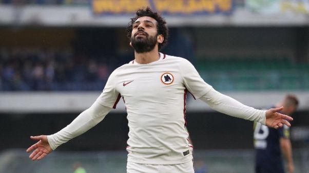 Salah-Liverpool: visite mediche martedì