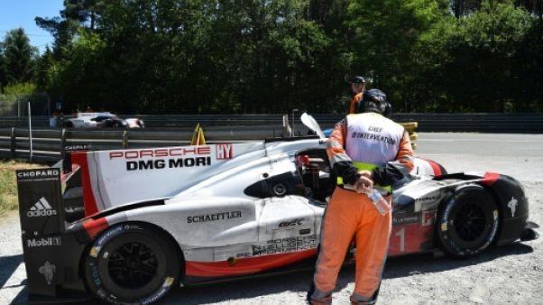 24 Heures du Mans: Porsche repasse en tête, et mène 30 minutes avant l'arrivée