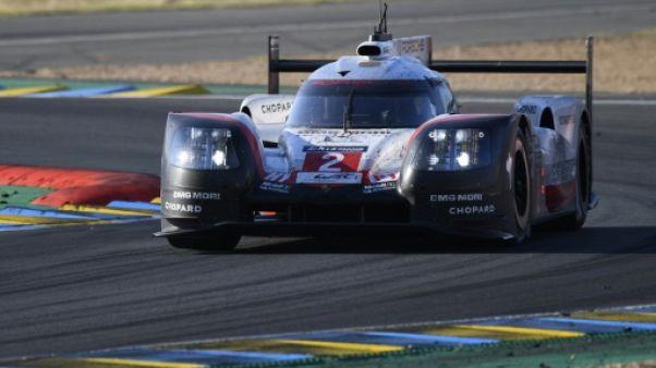 24 Heures du Mans: la Porsche de Bamber-Bernhard-Hartley remporte la 85e édition