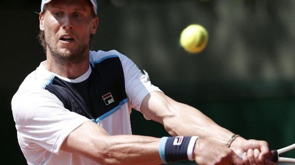 Tennis: ad Halle subito fuori Seppi