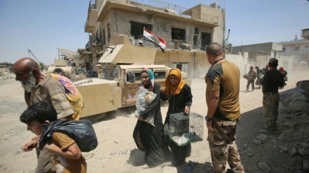Irak: combats acharnés à Mossoul, fuite des civils