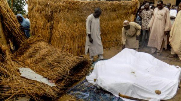 Séries d'attentats de Boko Haram dans le nord-est du Nigeria