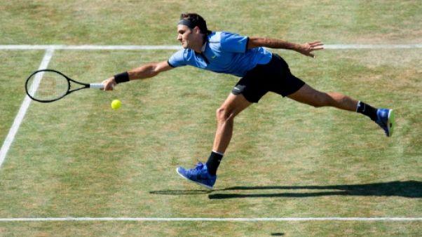 Tennis: Federer peaufine à Halle sa préparation pour Wimbledon