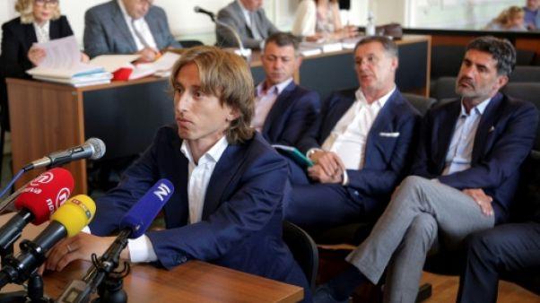 Croatie: Modric visé par une enquête pour faux témoignage