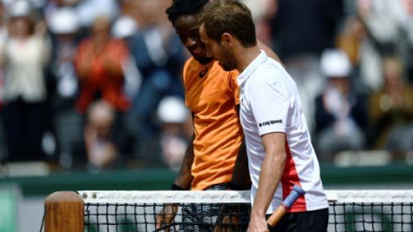 Tennis: Gasquet élimine Monfils au 1er tour à Halle