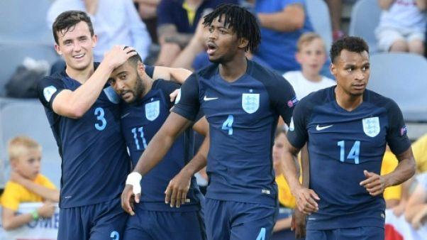 Euro Espoirs: l'Angleterre prend la tête du groupe A