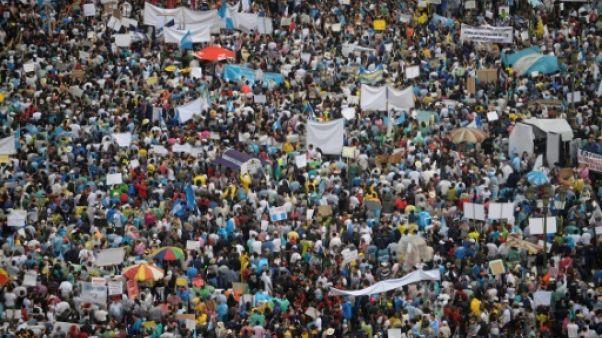 Corruption au Guatemala: deux ans après le pays à nouveau en colère
