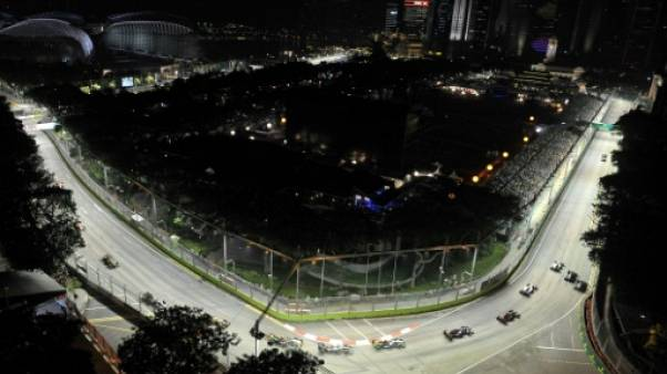 F1: Singapour pas pressé de renouveler son contrat
