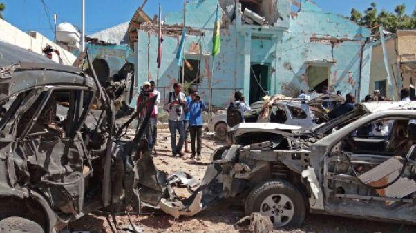 Somalie: au moins dix morts dans un attentat shebab à Mogadiscio