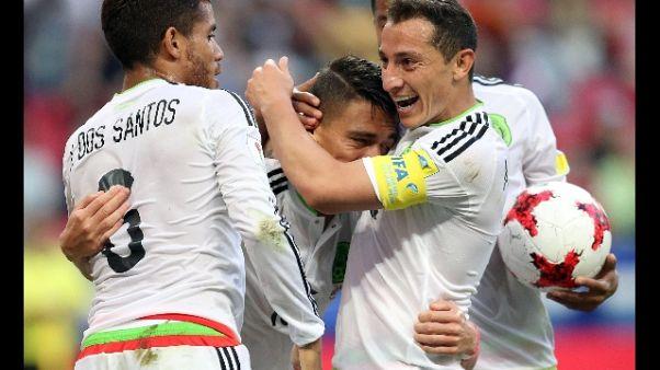 Confederations, richiamo Fifa al Messico
