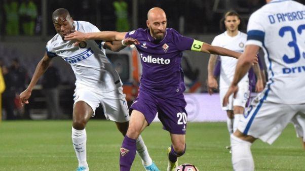 Fiorentina: striscione per Borja Valero
