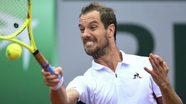 Tennis: Gasquet franchit le 2e tour sans trembler contre Tomic à Halle