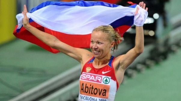 Athlétisme: trois coureurs russes suspendus quatre ans pour dopage