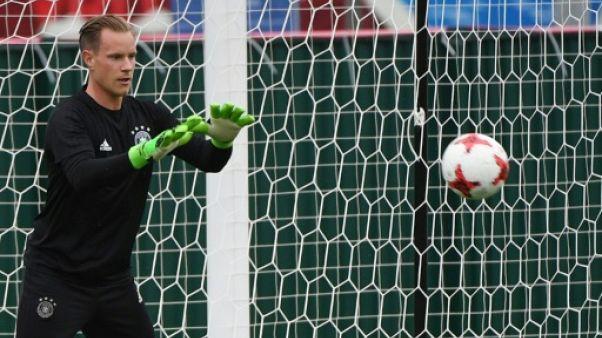 Coupe des Confédérations: les Allemands Ter Stegen et Draxler contre le Chili