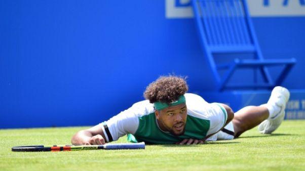 Tennis: l'hécatombe au Queen's se poursuit avec Tsonga