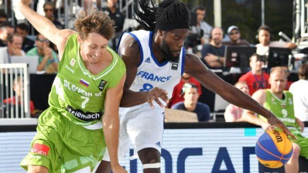 Basket 3x3: ce nouveau sport olympique, se dévoile lors de son Mondial à Nantes