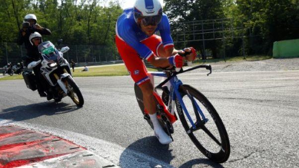 Cyclisme: Pinot face à lui-même au Championnat de France du contre-la montre