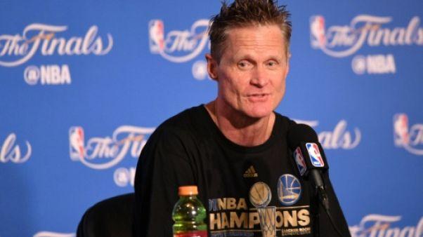 NBA: Kerr (Golden State) favorable à une visite à la Maison Blanche