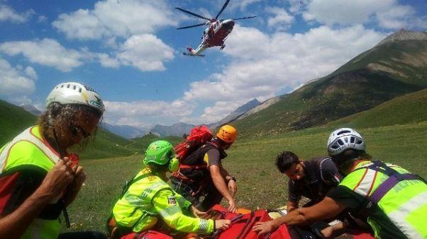 Morto escursionista disperso in montagna