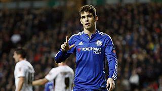 Oscar handed eight-match ban for sparking CSL brawl