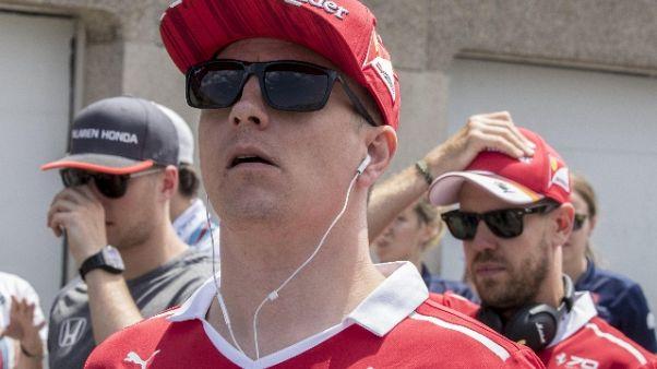 F1: Raikkonen, se serve aiuterò Vettel