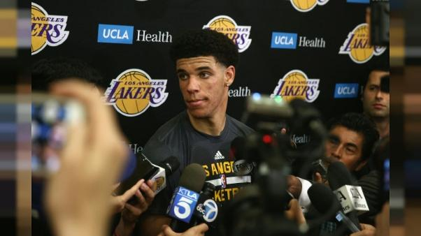 NBA: Lonzo Ball entre dans le grand monde, lors de la Draft