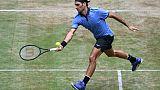 Tennis: Federer qualifié pour les quarts à Halle