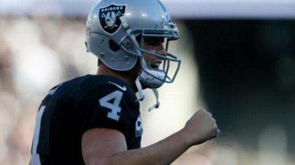 NFL: Oakland: Carr signe un contrat-record de 125 M de dollars