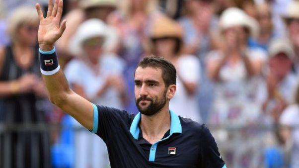 Tennis: Cilic tête d'affiche des quarts au Queen's