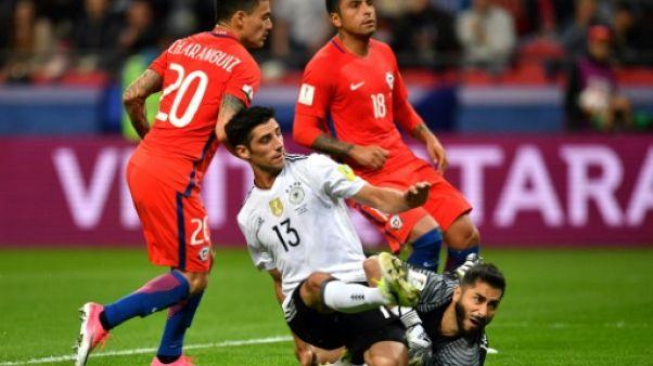 Coupe des Confédérations: l'Allemagne et le Chili font match nul 1-1