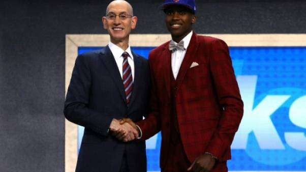 NBA: les New York Knicks font du Français Ntilikina leur meneur du futur