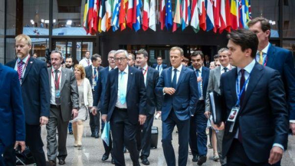 Commerce: les dirigeants de l'UE à la recherche d'unité