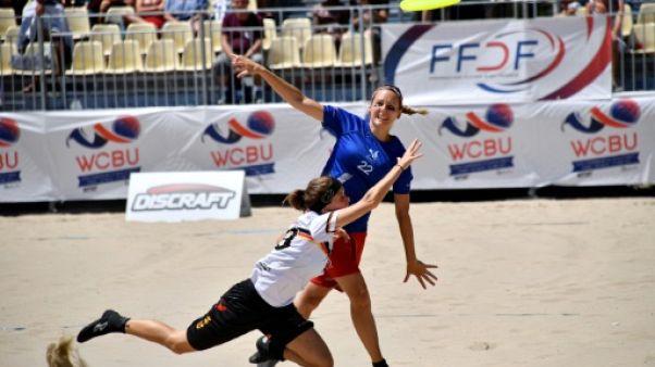 Sable brûlant et discoplane: le frisbee aussi a ses Championnats du monde