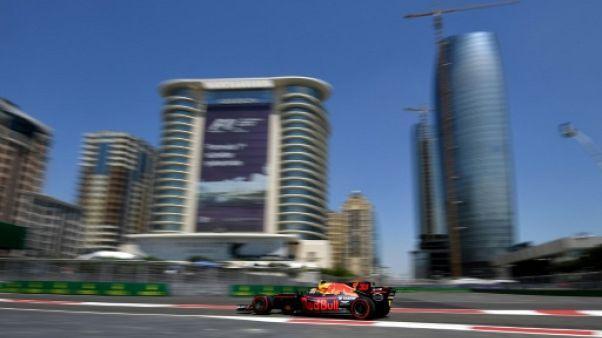 GP d'Azerbaïdjan: les Red bull les plus rapides lors des Esssais 1, Pérez dans le décor