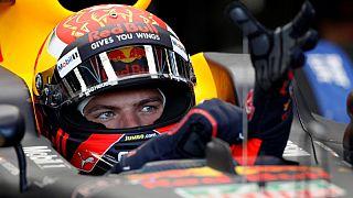 F1-Red Bull take top two spots in Azerbaijan practice