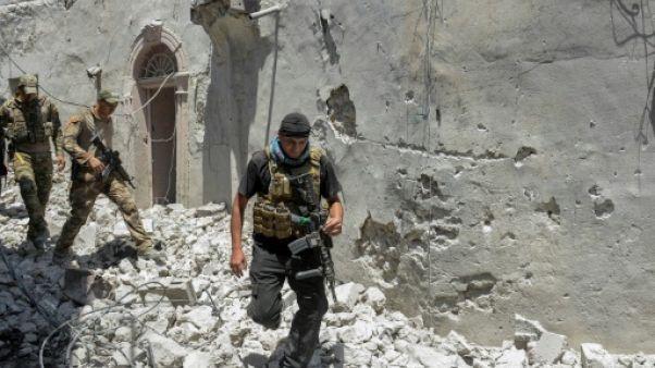 Irak: les deux tiers du vieux Mossoul repris à l'EI