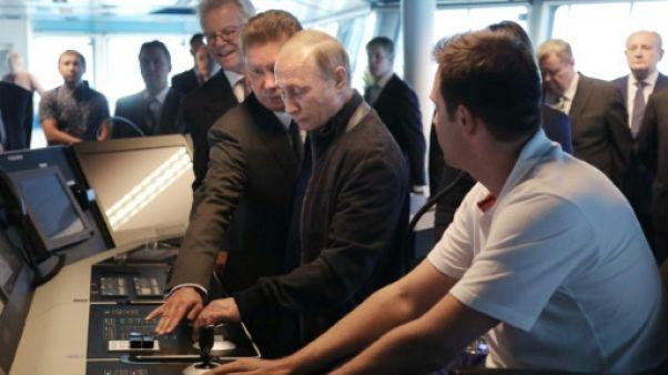 Poutine lance le chantier sous-marin du gazoduc TurkStream