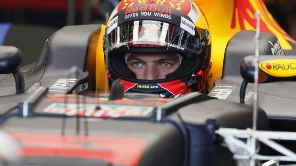 F1: libere 2 a Baku, comanda Verstappen
