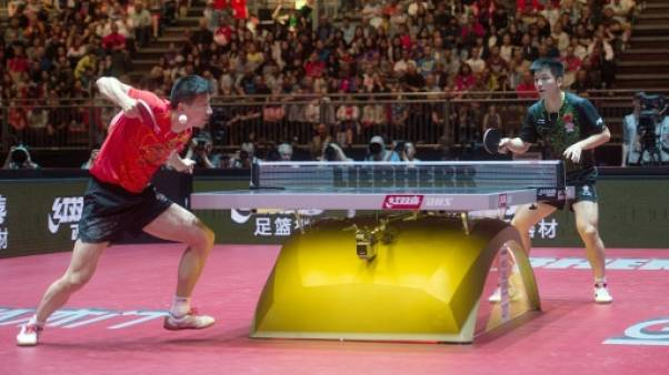 Tennis de table: l'équipe de Chine en déroute suite à des forfaits
