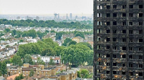 Tour Grenfell à Londres: un feu de frigo à l'origine de la catastrophe