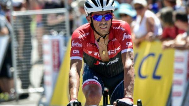 Tour de France: la garde internationale de Contador ans l'équipe Trek