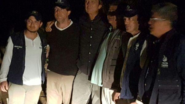 Colombie: libération de deux journalistes néerlandais enlevés lundi